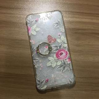 Preloved Iphone 6/6s Plus Clear Case w/ Ring