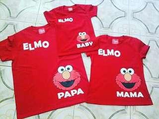 Elmo Family Shirt Set of 3