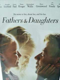 Fathers & daughter movie DVD