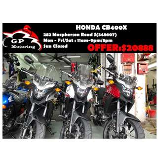 Brand New CB400X Promotion