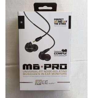 爆款MEE M6 PRO舞臺監聽耳機入耳式HIF耳機發燒DIY分離樂手