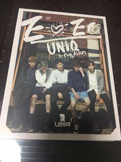 Uniq - EoEo signature 1st mini Album 王一博