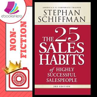 The 25 sales habits of highly successful people