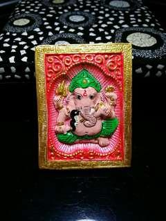 Kruba Krissana Phra Pikanet / Ganesha Amulet (Jumbo Size)