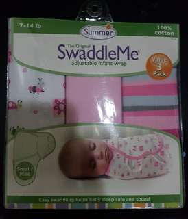 SwaddleMe adjustable infant wrap 3-pack