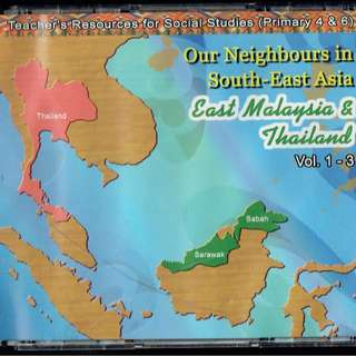 🚚 Primary 4 to 6 Social Studies CD-ROM - East Malaysia and Thailand (History & Geography)