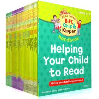 58 books OXFORD READING TREE: HELPING YOUR CHILD TO READ (FREE DELIVERY)