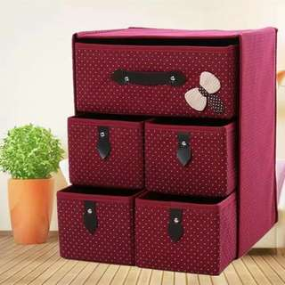 Folded drawer