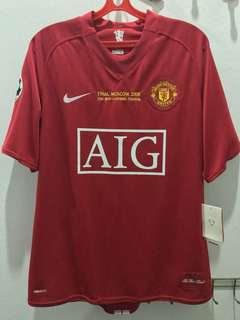 *Rare* BNWT Manchester United UCL Final Moscow 2008 Kit