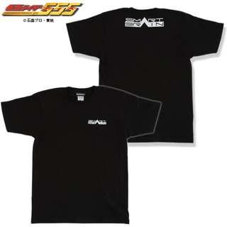 幪面超人555仮面ライダーファイズ SMART BRAIN(スマートブレイン)胸ワンポイント T-shirt