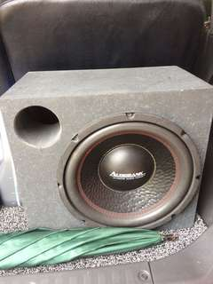 Subwoofer Audiobank 12inch
