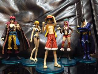 One Piece lot 5 figures