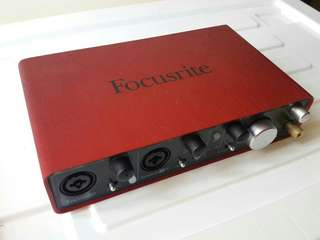 Audio Interface Focusrite 2i4 2nd Gen.