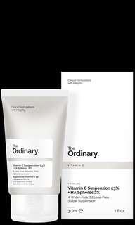 The Ordinary Vitamin C Suspension 23% + Hyaluronic Acid Spheres