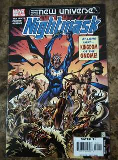 UNTOLD TALES OF THE NEW UNIVERSE : NIGHT MASK #1