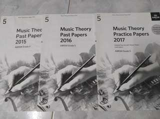 Music Theory Practice Paper Grade 5, year 2015/16/17