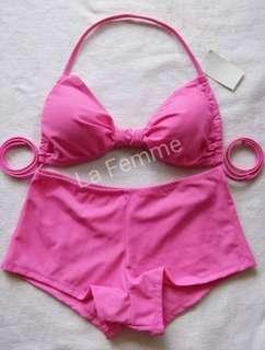 Soft pink bikini