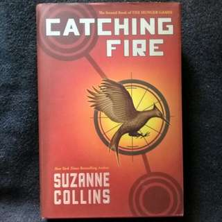 Catching Fire (hard cover) by Suzanne Collins