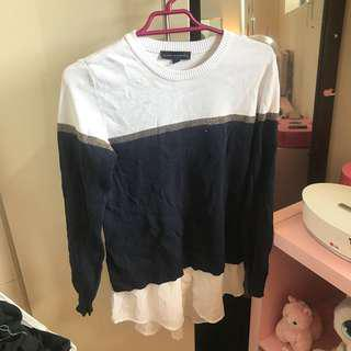 Sweater/Frill