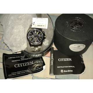 citizen eco drive chrono watch original
