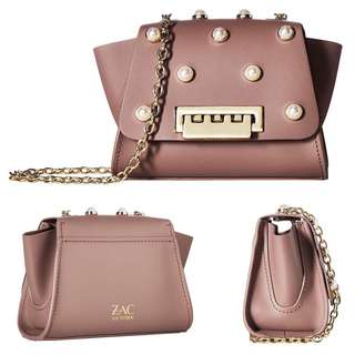 Zac Posen|Crossbody bag|Leather|Chain#️⃣371UB