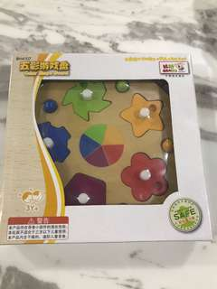 Brand new wooden puzzle