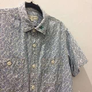 Avirex Type Blue work Shirt