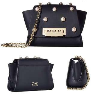 [SALE]Zac Posen|Crossbody bag|Leather|Chain#️⃣368UB