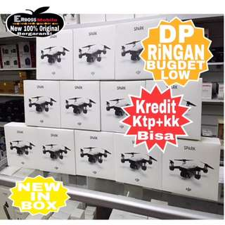Dp 700rb Dji Spark Single Quadcopter Drone-Cash/Kredit ditoko ktp+kk call/wa;081905288895