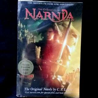 NARNIA by C.S. Lewis  (paperback)