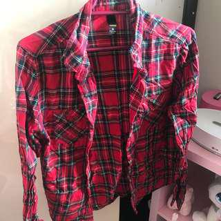 Red Flannelette