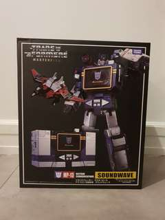 Transformers soundwave replica