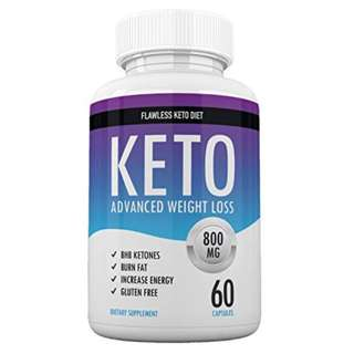 [IN-STOCK] Flawless Keto Diet - Keto Advanced Weight Loss - Burn Fat Instead of Carbs - Ketosis Supplement - 30 Day Supply