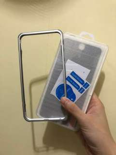 iPhone 6 Plus / iPhone 6+ 防偷窺保護貼 + bumper case