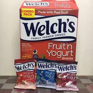 Welchs fruit and yogurt snacks 水果乳酪零食包