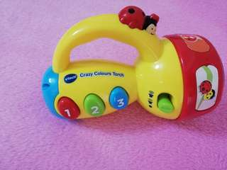VTech Crazy Color Torch Light