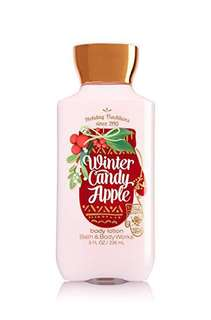 Bath & Body Works Winter Candy Apple Lotion