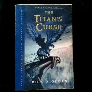 Titan's Curse by Rick Riordan (paperback)