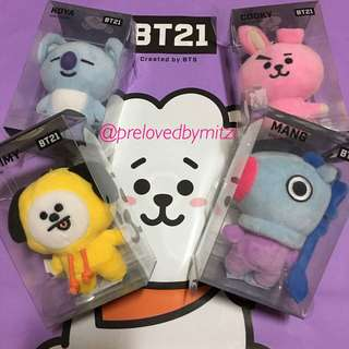 (INCOMING STOCK: 23RD) BT21 BTS KEYCHAIN PLUSHIE PLUSH
