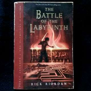 Battle of the Labyrinth by Rick Riordan (paperback)