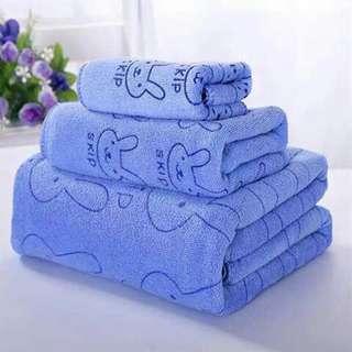 3in1 towel set