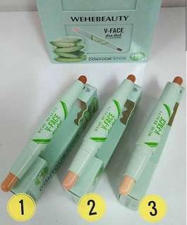 WeHe Beauty V-faced duo stick