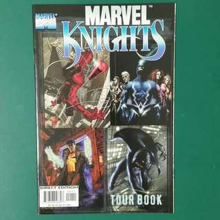 Marvel Knights Tour Book comic
