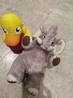 Plushie toy sold as set