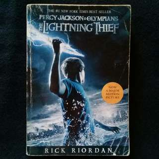 The Lightning Thief by Rick Riordan (paperback)