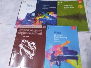 Piano ABRSM Grade 5 books