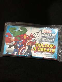 Singapore Airlines Avengers Kit