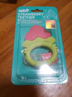 TLO Korea Strawberry teether BNIB