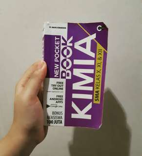 Pocket Book Kimia SMA X,XI,XII