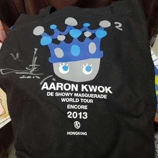 🈹️🈹️🈹️(郭富城親筆簽名)2013演唱會紀念環保袋